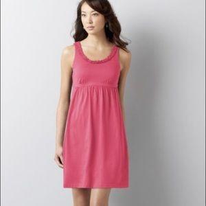 Pink Loft Empire Waist Dress